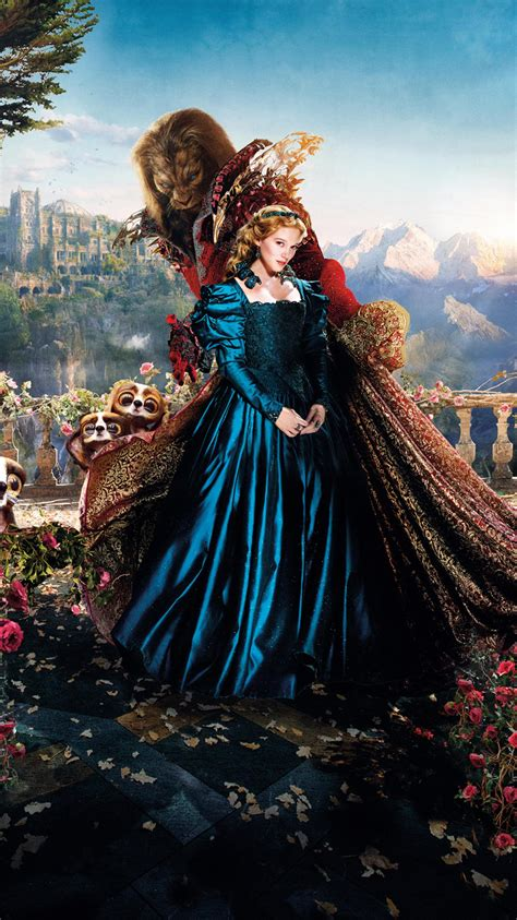beauty and the beast 2014 beauty and the beast 2014 phone wallpaper moviemania