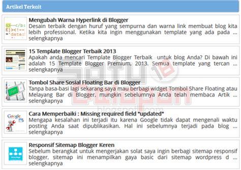 artikel langkah membuat timbangan sederhana cara membuat artikel terkait keren vertikal di blogger