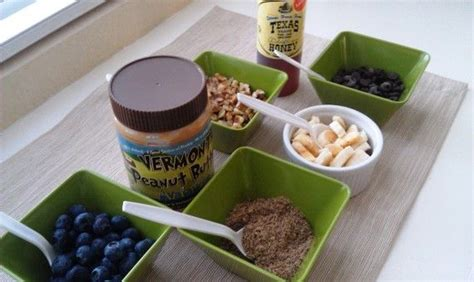oatmeal toppings bar 62 best images about breakfast ideas on pinterest banana
