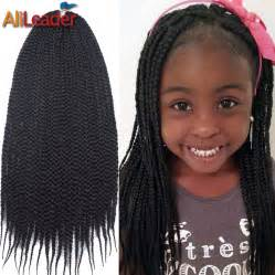 buy senegalese pre twisted hair packs aliexpress com buy cute crochet box braids for kids