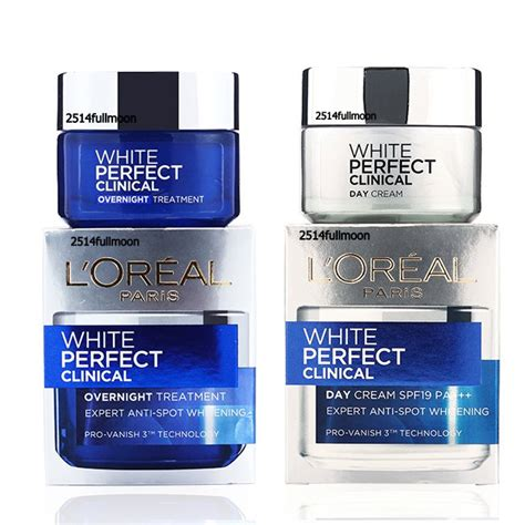 Loreal White Clinical set of l oreal white clinical day spf19 pa