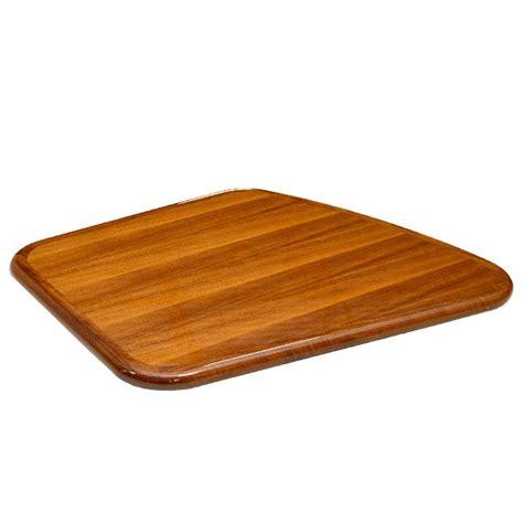boat table top wood tiara yachts 34 x 28 inch marine laminated glossy wood