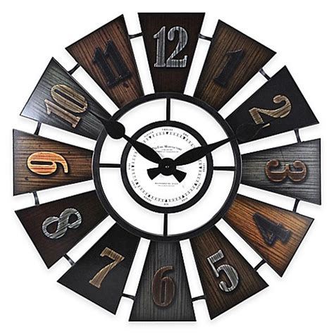 bed bath beyond clocks firstime 174 windmill wall clock bed bath beyond