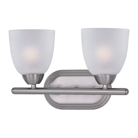 Maxim Lighting Axis Satin Nickel Bathroom Light Satin Nickel Bathroom Lights