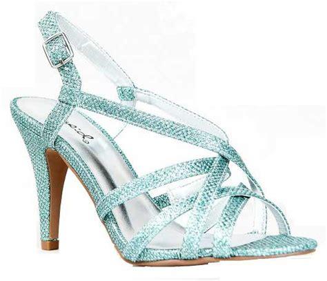 strappy silver rhinestone mid heel shoes 30 dollars