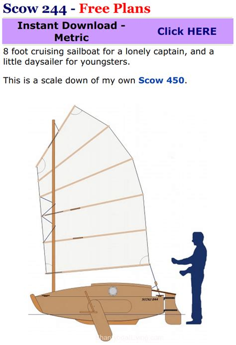 scow schooner plans scow 244 free plans clipular boat yacht and sail