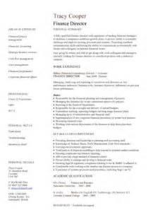financial cv template business administration cv