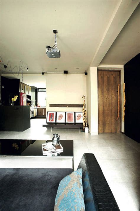 3 trendy hdb flat homes with monochromatic colour schemes these 3 room hdb flats are stylish and creative home