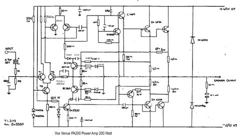 Pcb Power 400 Watt Pa 018b 200 watt audio power lifier circuit diagram circuit and schematics diagram