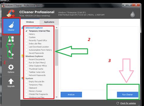 ccleaner how to use how to use ccleaner to clean and fix windows pc whatvwant