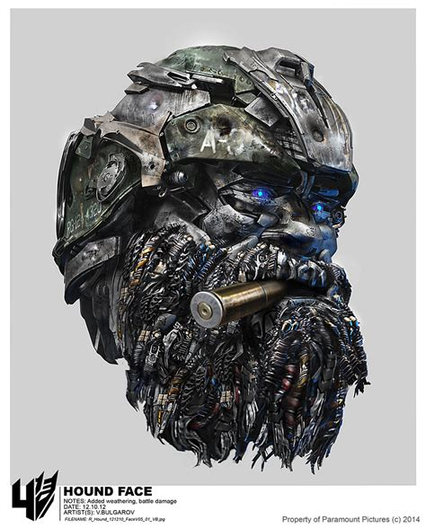 transformers hound art transformers age of extinction hound concept art