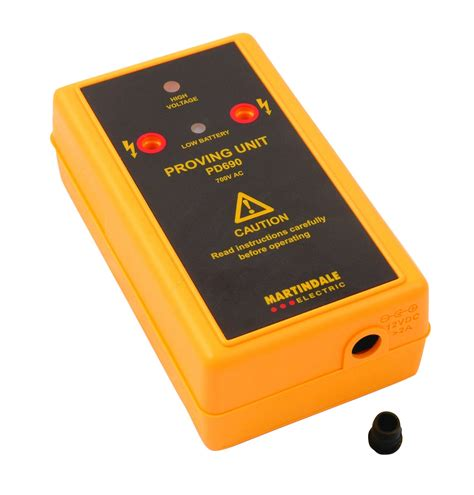 The Proving martindale vipd150 voltage indicator and proving unit