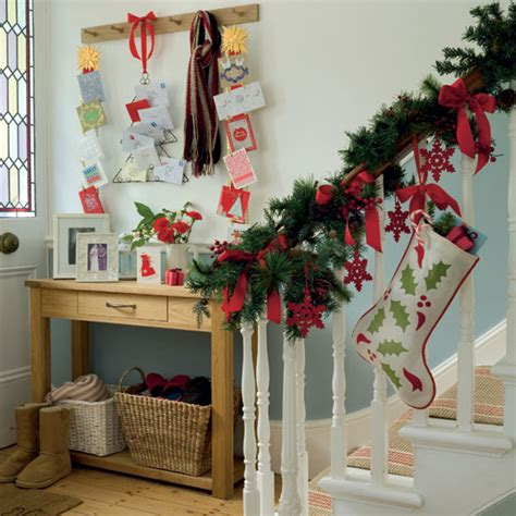 beautiful stylish christmas home decor ideas for hall