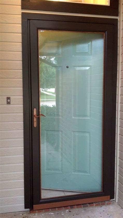 exterior door with screen 17 best ideas about doors on screen