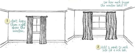 properly hanging curtains 100 how to properly hang curtains hookless escape