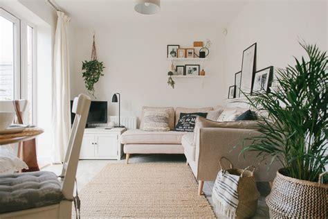scandi boho living room makeover reveal    build