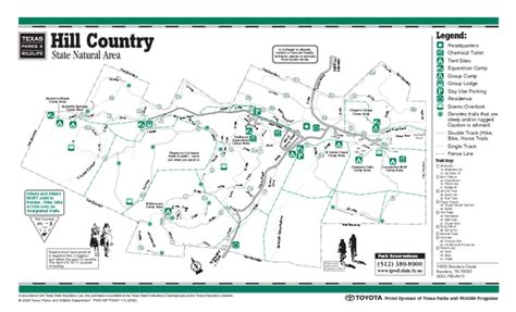 hill country map 1 354 hill country hike picnic