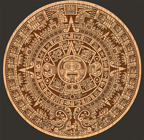 Mayans Calendar Nature On The Edge Of New York City Mayan Calendar End