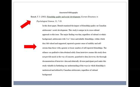 short guide  annotated bibliographies youtube