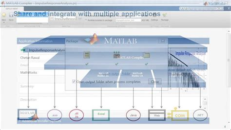 Mathworks Application Your Matlab Applications Using Matlab Compiler