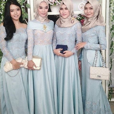 Kain Satin Korea Silver 10 desain cantik gaun muslimah untuk ke acara pesta