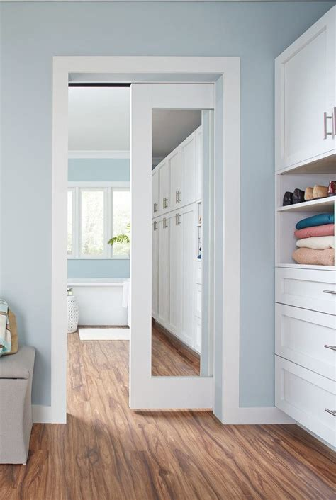 Bathroom Door Mirrors Pocket Door Mirror Ideas Closet United States With