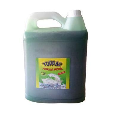 Sabun Toppas jual toppas jeruk nipis sabun cuci piring 5 l harga kualitas terjamin blibli