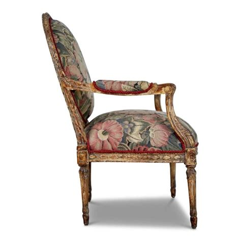 fabric armchairs for sale louis xvi style armchairs with tapestry floral fabric
