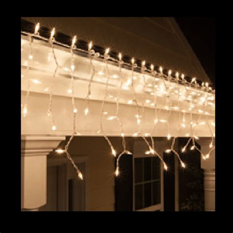 clear mini icicle lights incandescent string lights icicle lights string lights store