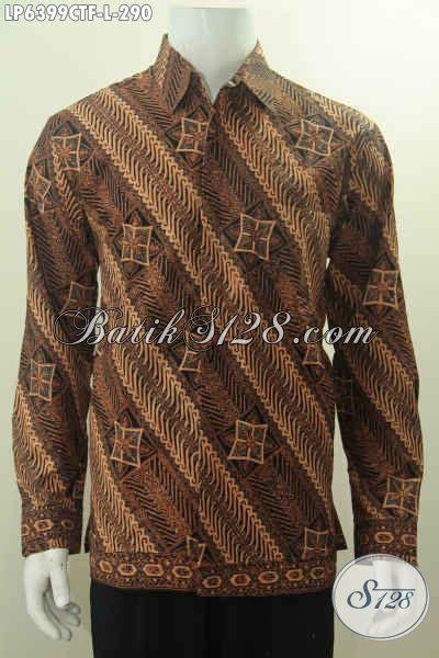 Jb Hem Batik Seragam Damian hem batik halus motif klasik nan elegan baju kerja desain mewah foto gambar