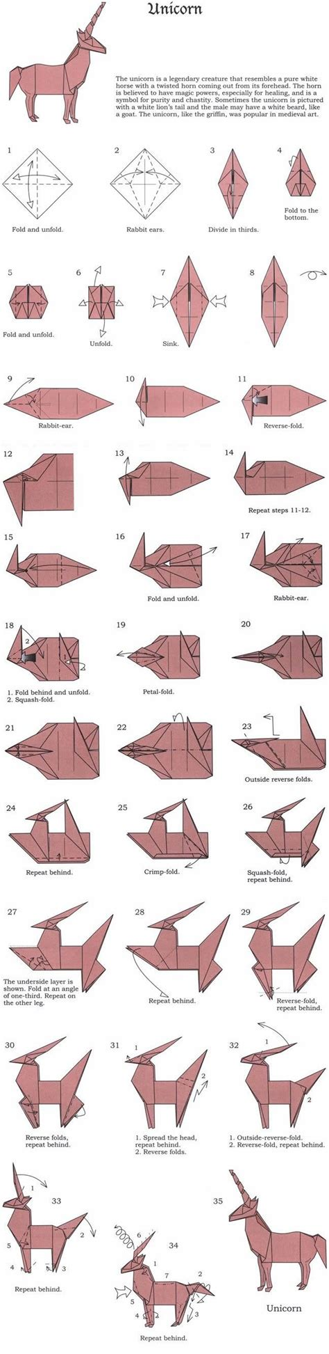 Origami Cat Diagram - 1000 ideas about origami diagrams on 3d