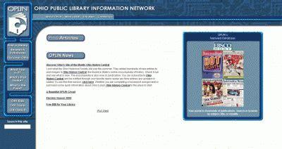 by leaf oplin ohio public library information network oplin website through the years oplin