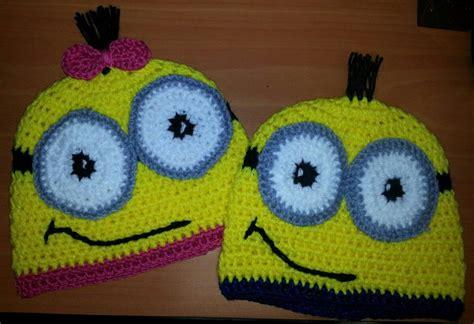 gorros tejidos para bebes y ninos de 2 anos vendo fabulosos gorros gorros minions tejidos a crochet