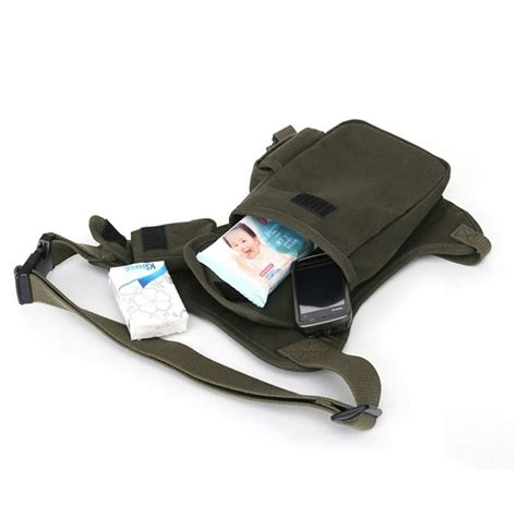 Tactical Bag 023 Import mens canvas tactical motorcycle hip pack