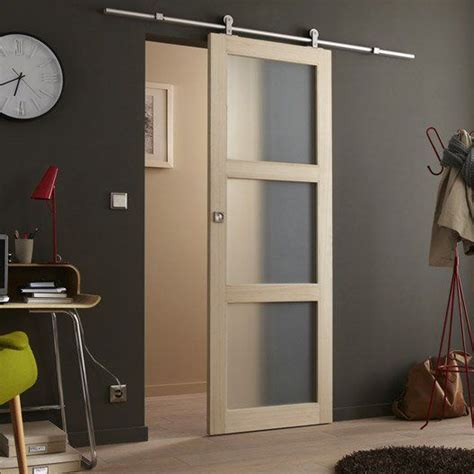 Bowens Barn Doors 76 Porte Coulissante Paulownia Plaqu 233 Bowen 204 X 73 Cm Appartement Ps