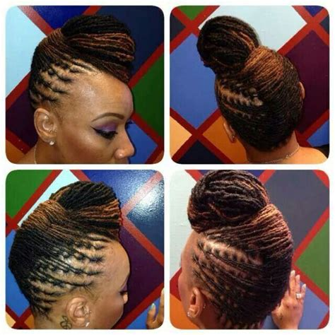 modern dreadlock hairstyles for ladies 218 best loc updos images on pinterest