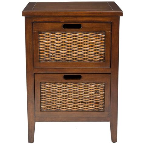Accent Table With Storage Safavieh Joe Barley Storage End Table Amh6629d The Home Depot