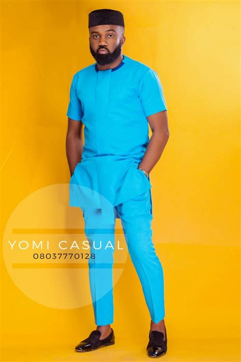 yomi casual 2016 latest designs for men menswear yomi casual enlists noble igwe as his muse