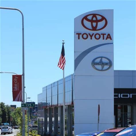 Lake City Way Toyota Toyota Of Lake City Olympic Seattle Wa