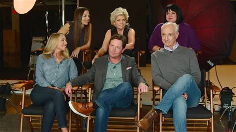 michael j fox sitcom family ties it s a family reunion for family ties cast after 25