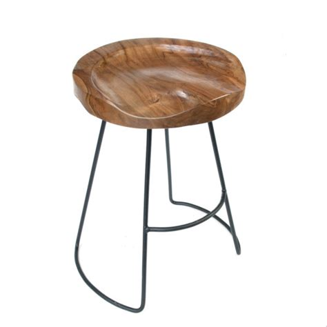 teak wood bar stools contemporary solid natural timber teak wood short bar