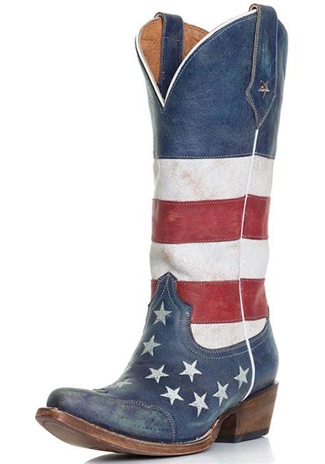 roper s american flag snip toe cowboy boots