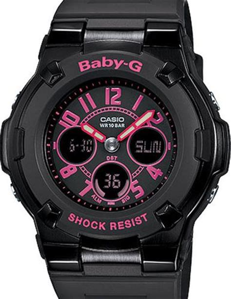 G Shock Baby G Bga 110 Baby Pink casio baby g wrist watches baby g black pink digital