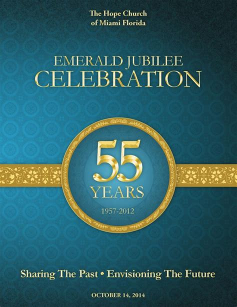 Church Anniversary By Michael Taylor Flipsnack Church Program Covers Templates