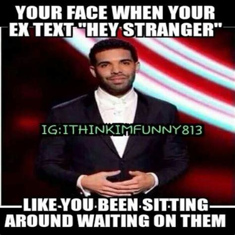 face    text hey stranger