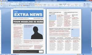 Microsoft Word Magazine Template magazine design mr munoz tech center
