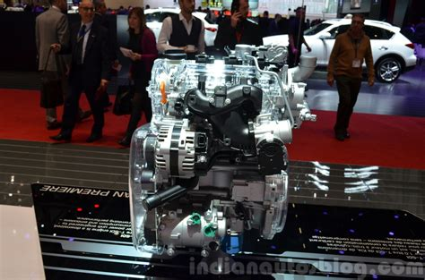 Kia T Gdi Engine Kia 1 0 Litre T Gdi Engine At The 2015 Geneva Motor Show