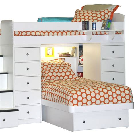bunk bed comforters dottie polkadot bunk bed hugger comforter bedding for