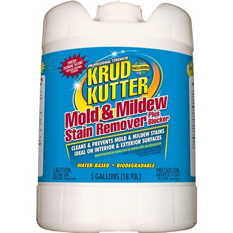 ceiling stain remover krud kutter 5 gal mold and mildew stain remover plus