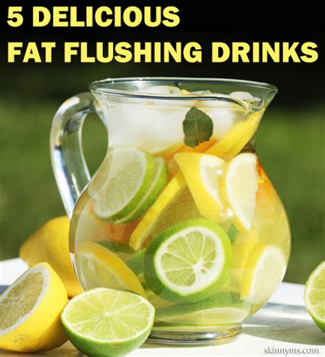 Best Burning Detox Drinks by The 25 Best Flush Water Ideas On Belly